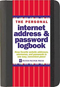 This internet address and password logbook is the perfect gift for an organized mom.