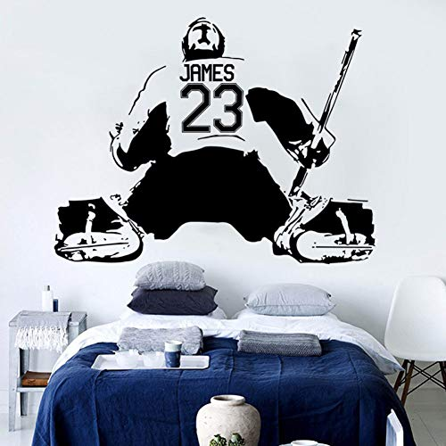 Dekorieren Sie Eishockey Kunst Wandaufkleber Dekoration Abziehbilder Wandmalerei Abnehmbare Dekor Tapete