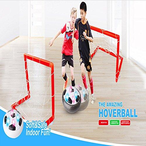 Pallone gonfiabile per cuscino d'aria, gioco facile Pallone gonfiabile per gioco d'aria per bambini 4 Ragazzi per bambini Sport Giocattoli per bambini Pallone da calcio per allenamento all'aperto Disc