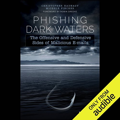 Phishing Dark Waters audiobook cover art