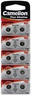 CAMELION Pile Bouton pour Montre 1.5V-28mAh LR41/AG3 (10 pcs/BL)
