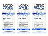 Earex Advance Ear Wax Removal Drops- Dual Action 15Ml 3 Pack