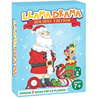 Llama Drama Card Game for Kids and Adults (1 Pack Holiday Edition)