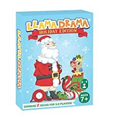 An exciting, family friendly, llama-loaded card game that you'll want to play again and again! Simple and easy to play! Video instructions available on llamadramas website. Horse-play not included. Llama-play included. (Except for the spitting part.)...