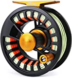 MAXIMUMCATCH Tail Fly Fishing Reel Light Weight Large Arbor Teflon Disc with CNC-machined