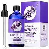 Lagunamoon Aceites Esenciales, Aceites de Aromaterapia de Lavanda, Aceites Esenciales para Humidificadores 100% Puros, 150ml con Cuentagotas