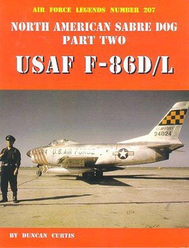 North American Sabre Dog USAF F-86D/L - Part 2 (Air Force Legends)