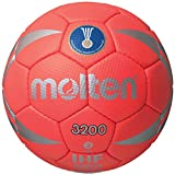 Molten H1X3200-2 Competition Handball, Red/Silver, One Size
