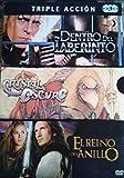 Dentro Del Laberinto + Cristal Oscuro + El Reino Del Anillo [DVD]