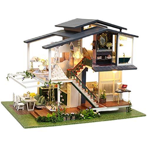 (t-FREAK )ドールハウス 手作りキットセットミニチュア モネの庭 Monet Garden