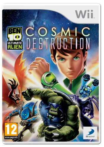 Ben 10 Ultimate Alien: Cosmic Destruction (Wii) [Importación inglesa]