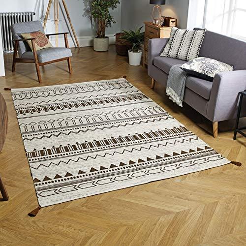 Oriental Weavers Teppich, 100% Baumwolle, Mehrfarbig, 120 x 170 cm