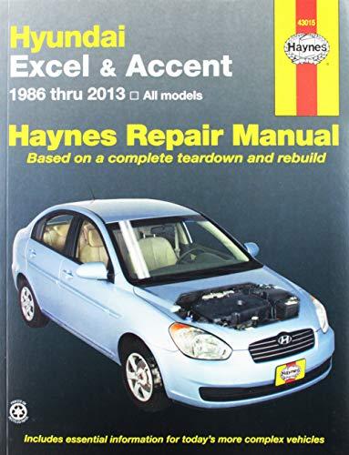 Hyundai Excel & Accent '86'98 (Haynes Repair Manual)