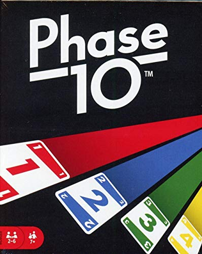 Mattel Phase 10 Basis Kartenspiel