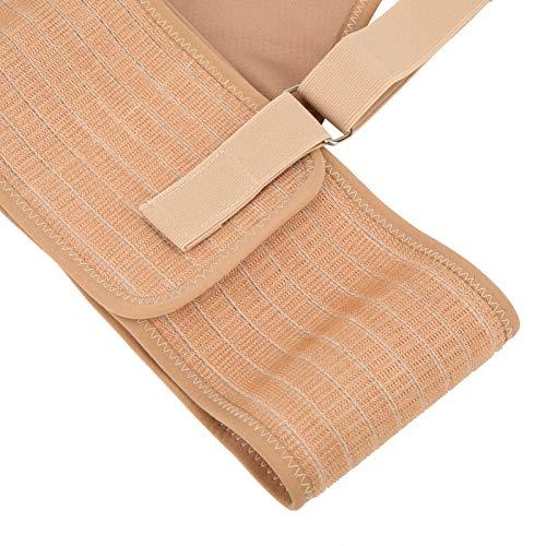 Sdfafrreg Cinturón de Soporte para el Embarazo, cinturón de Soporte de Maternidad elástico Transpirable con Hombros Cruzados, para Levantar el estómago, protección de la Cintura para Mujeres(Khaki)