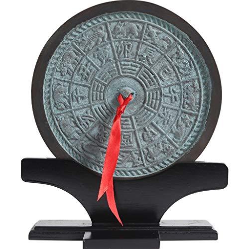 wanhaishop Decoración Feng Shui Feng Shui Chino decoración Tradicional China chisme Espejo Lucky decoración de Interiores Murales Suministros Adornos Estatua de Buda