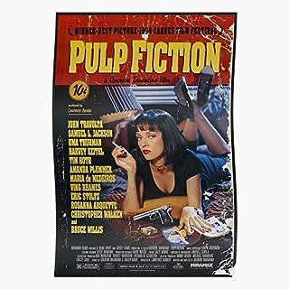 Thurman Poster Fiction Uma- Gift For Home Decor Wall Art Print Poster