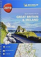 Great Britain & Ireland 2019 - Tourist & Motoring Atlas A4 Spiral 2019 (MICHELIN ROAD ATLASES)