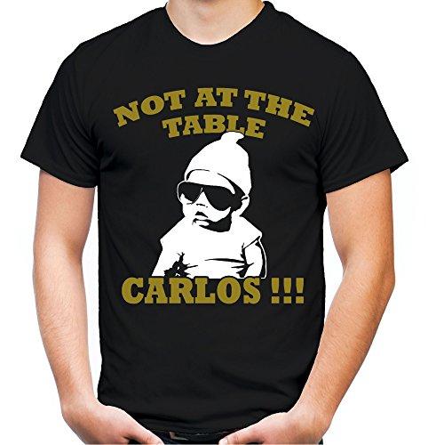 Carlos Hangover Männer und Herren T-Shirt | Spruch Kostüm Alan Geschenk (XL, Schwarz)