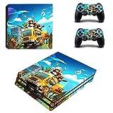 FENGLING Overcooked 2 Ps4 PRO Adesivi Playstation 4 Adesivo per Pelle Cover per Decalcomania per Playstation 4 Ps4 PRO Console e Controller Skins Vinile