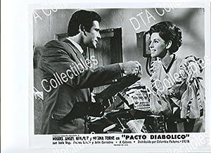 MOVIE PHOTO: PACTO DIABOLICO-8X10 STILL-1968-HORROR-MIGUEL ANGEL ALVAREZ-REGINA TORNE FN