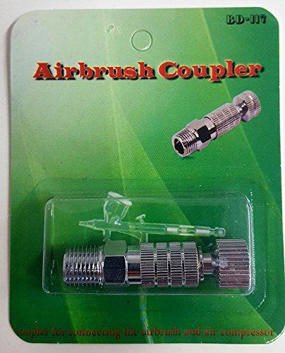 BD117 Fengda airbrush Quick action coupling compressor Slang Spray technologie tussenstuk 1/8
