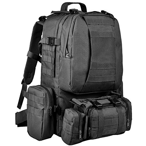 Best Multipurpose Backpack: CVLIFE Tactical Backpack Military Army