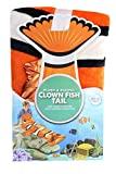 Plush and Playful Clown Fish Tail Lightweight Blanket | 22.5 x 55 Inch