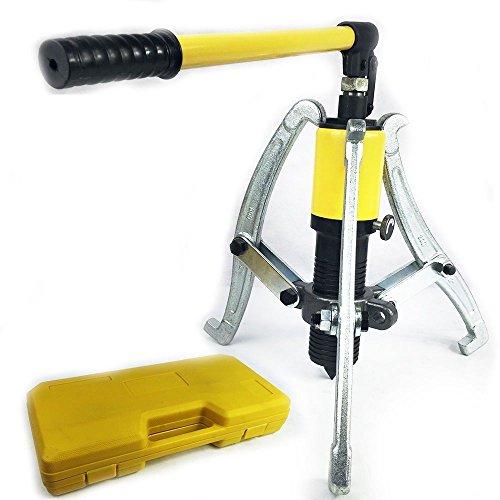 HanSemay Kit estrattore idraulico, multi-funzione integral-unit idraulico 3estrattore 15T, attrezzo separatore con custodia