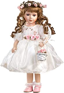 """Jmisa 16"""" Porcelain Standing Doll with Stand"""