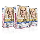 L´ORÉAL PARIS Pack 3x Excellence Pure Blonde Tinte Permanente Triple Cuidado Tono 01 Rubio Claro Natural