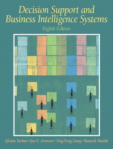 Decision Support And Business Intelligence Systems: United States Edition
