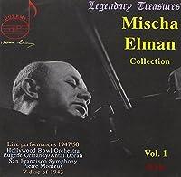 Mischa Elman(Vn) Lalo, Tchaikovsky, Etc