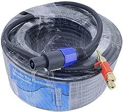 Heavy Duty 12 gauge speaker cable for PA DJ Speakers 100ft