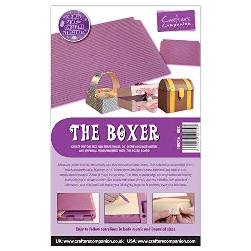 Crafter's Companion Tableau d'Affichage The Boxer, Violet