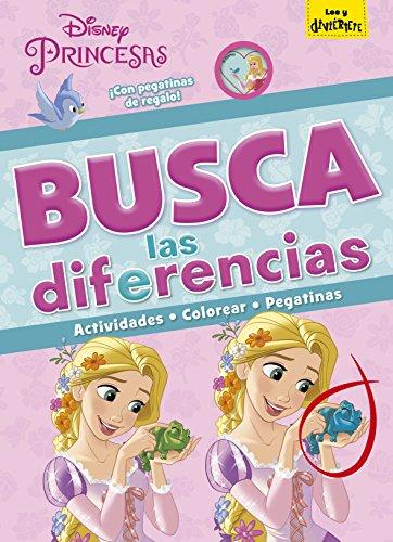 Princesas. Busca las diferencias (Disney. Princesas)