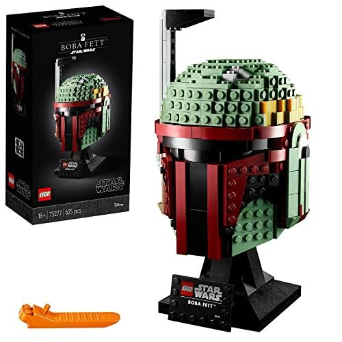 LEGO® 75277 Boba Fett Helm, Star Wars Charakter als Bauset zum Sammeln, bunt