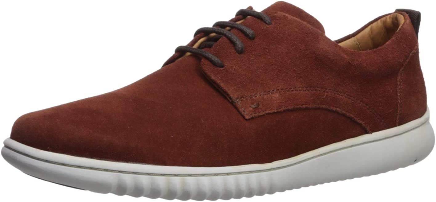 Driver Club USA Men's Leather Made in Brazil Oxford Sneaker