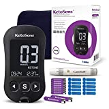 KetoSens Blood Ketone Monitoring Starter Kit + APP: Ideal for Keto Diet. Includes Meter, 10 Ketone Test Strips, 10 Lancets, Lancing Device & Case by i-Sens