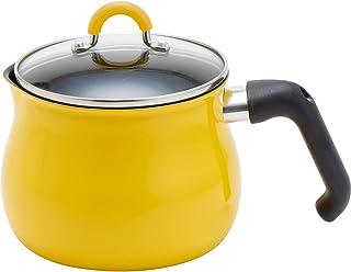 和平フレイズ マルチポット Mサイズ 14cm 2.2L (1~2人用) イエロー IH対応 ご飯鍋 ミルクパン 揚げ鍋 ふっ素樹脂加工 トゥーメイ To May 一人暮らし 新生活 SRA-9471