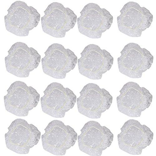 WINOMO 100pcs Jetable Transparent Protection Auditive Couverture de Oreille de Douche