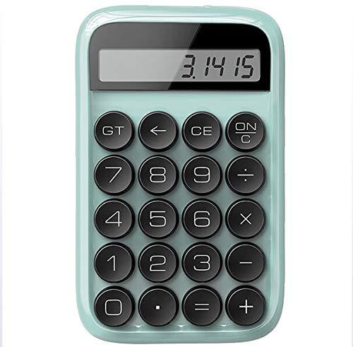 LYA Jelly Beans toetsenbord rekenmachine dot mechanische draagbare rekenmachine multifunctionele rekenmachine geschikt voor woningen, studie, kantoor