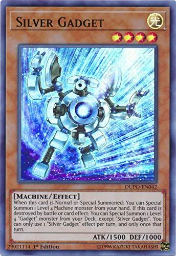 Yu-Gi-Oh! - Silver Gadget - DUPO-EN042 - Ultra Rare - 1st Edition - Duel Power