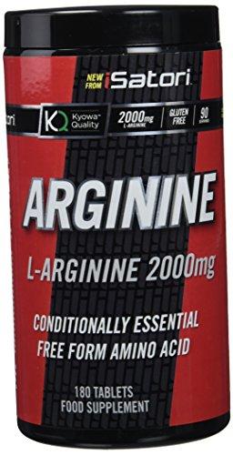 Isatori Integratore Alimentare di L-Arginina - 180 compresse