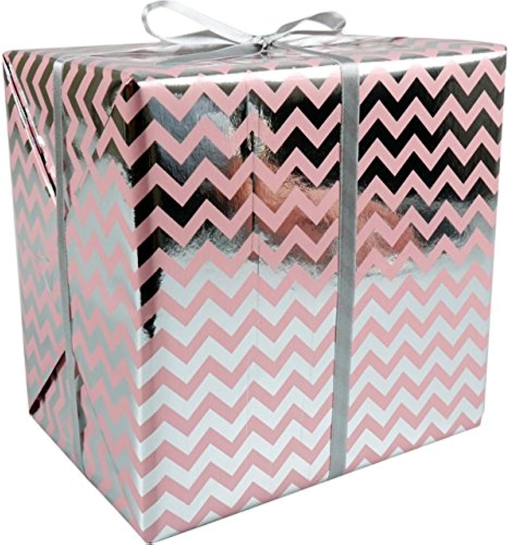 LOVLY® Cadeaupapier, 50cm, 200m, 60gr m², Chevron, roze roze roze B07BNFNPDS | Reparieren  9bfddf