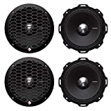 4 Rockford Fosgate PPS4-6 6.5' 800 Watt 4-Ohm Midrange Car Loudspeakers Speaker