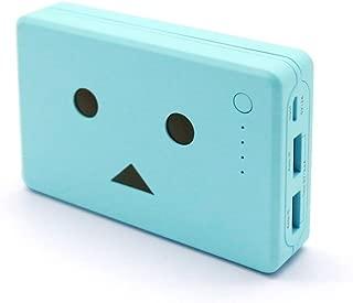 cheero Power Plus 10050mAh DANBOARD 大容量かつコンパクト モバイルバッテリー iPhone&Android対応 2ポート Auto-IC機能搭載 (アジサイ) CHE-066-AJ