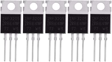 International Rectifier IRF3205 Transistor N Channel Power Mosfet 55V 110A TO-220 5 Pack