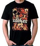 Desconocido 35mm - Camiseta Niño The Goonies - Cine 80's - EGB - Negro - 7-8 años