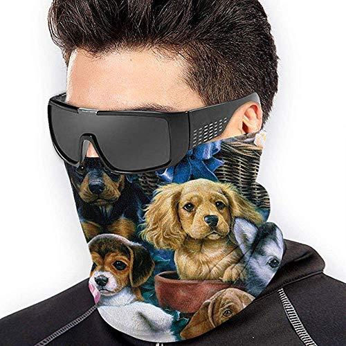 Halswärmer Hundekörbe und Hunde Nackenschutz Gesicht Schlauchschal Ohrenwärmer Gesichtsmaske Stirnband & Maske